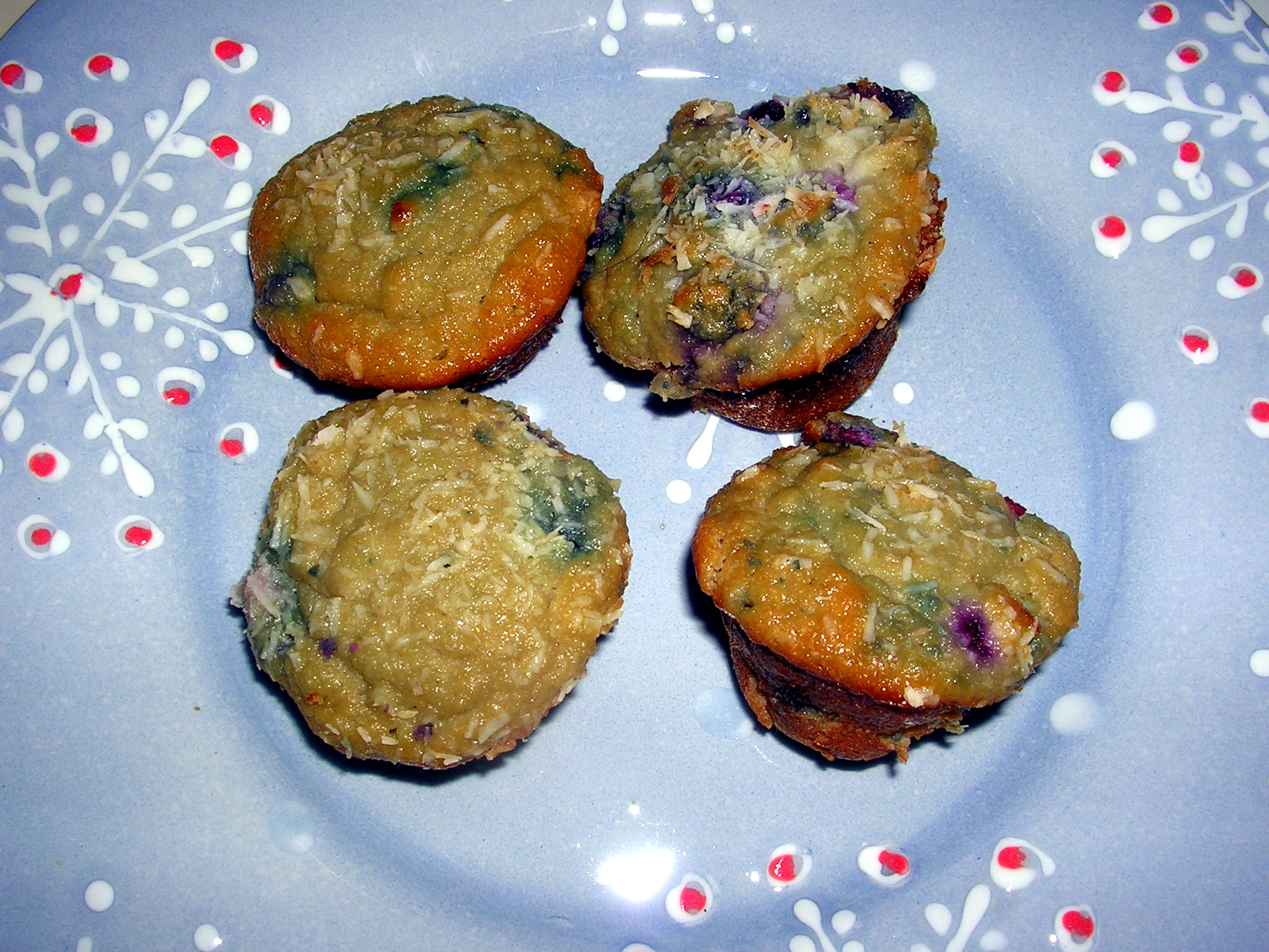 A Taste of Summer: Coconut Blueberry Muffins